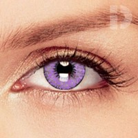 iD Lenses Violet Coloured Contacts
