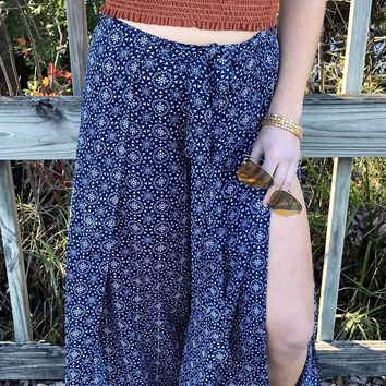 Lost In The Galaxy Pants - Navy