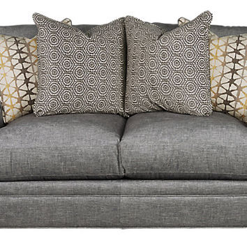 Cindy Crawford Home Palm Springs Gray Apartment Sofa - Sofas (Gray)