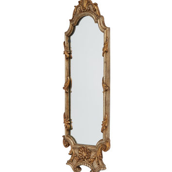 Silver and Gold Rococo Framed Mirror
