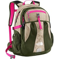 Mojave Desert Tan/Society Pink Women's Recon - The North Face Middle School Backpacks for Girls, back to school