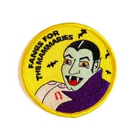 Fangs for the Mammaries Patch