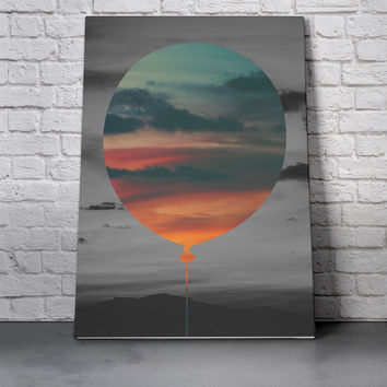 Canvas Wall Art Print - Balloon Sky by Eric Bray