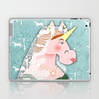 Unicorn Queen Victoria Laptop & iPad Skin by That's So Unicorny