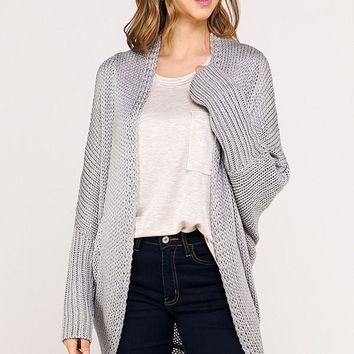 Blessing In Disguise Cardigan - Stone