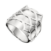 LATITUDE Ring - Fashionable Sterling Silver