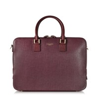 Aspinal of London Designer Briefcases Small Mount Street Tech Bag