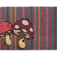 MUSHROOM MAT | Home Decor, Entrance, Accent, Shrooms, Fungi, Psychedelic, Color, Doorway, For Her | UncommonGoods