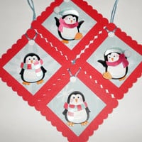 Holiday Gift Tags - Penguins