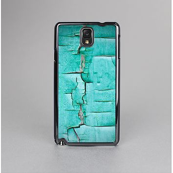 The Peeling Teal Paint Skin-Sert Case for the Samsung Galaxy Note 3