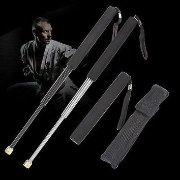 Professional Outdoor Self-defense Tool Retractable Stick For Men Women Gift
