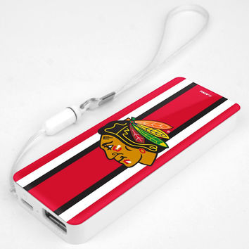 Mizco NHL Chicago Blackhawks 3K Slim Power Bank Powerbar