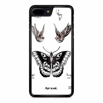 Tattoo Harry Style One Direction iPhone 8 Plus Case