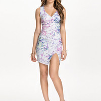 Thigh Split Printed Dress, NLY One