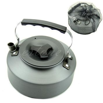 Camping Survival Coffee Pot Water Kettle Teapot Aluminum