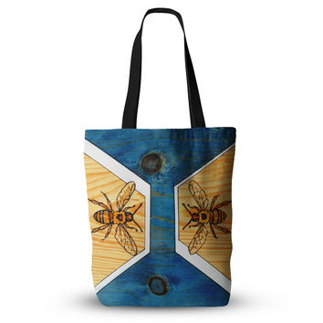 "Brittany Guarino ""Bees"" Everything Tote Bag"