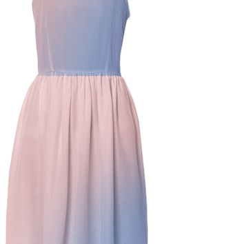 Roses Quartz and Serenity Summer Dress