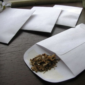 200 White WILDFLOWER SEED FILLED envelope favors- butterfly and hummingbird mix