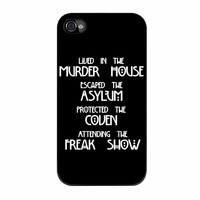 American Horror Story iPhone 4 Case