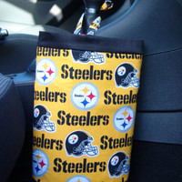 PITTSBURGH  STEELERS Car Trash Bag Made With NFL Licensed Fabric