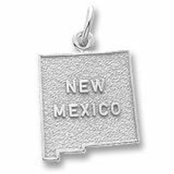 New Mexico Charm In Sterling Silver