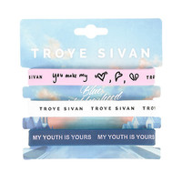 Troye Sivan Lyrics Rubber Bracelet 3 Pack