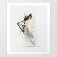 Drift Contemporary Dance Art Print by Galen Valle