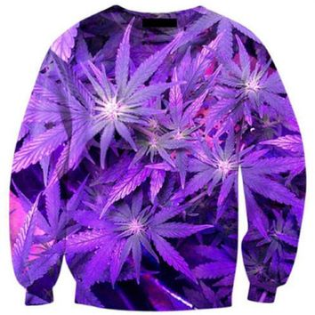 Future Weed Crewneck Sweatshirts WEED LEAF 3D PRINT SWEATS WOMEN MEN OUTFITS JUMPER JOGGER FASHION CLOTHING HOODIES