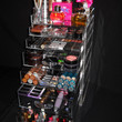 Clear Acrylic Makeup Organizer Cube with 7 Drawers