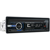 Power Acoustik Single_din In-dash Cd Receiver With Detachable Face & 32gb Usb Playback (without Bluetooth)