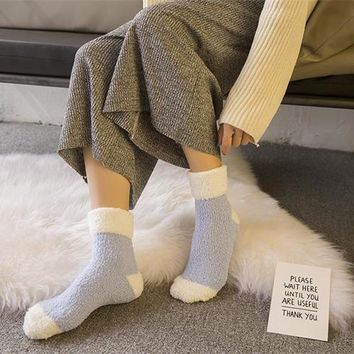 Women's Fluffy Socks