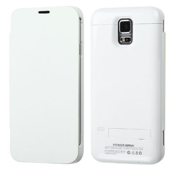 Quantum Energy Battery Case (3200 mAh) for Samsung Galaxy S5 - White