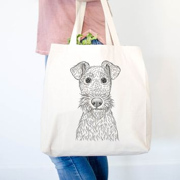 Fitz the Wire Fox Terrier - Tote Bag