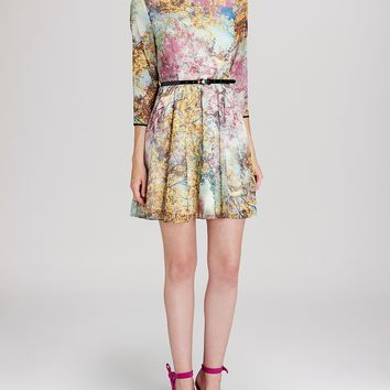 Ted Baker Dress - Eponi Pretty Trees Print
