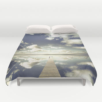 Vanity Duvet Cover by HappyMelvin