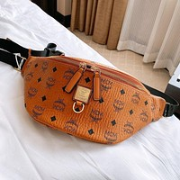 MCM Hot Sale New Men's and Women's Printed Letter Crossbody Bag