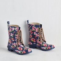 Fairytale When It Rains, It Fleurs Rain Boot by ModCloth