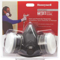 Half Mask Respirator With Ov & N95, Medium