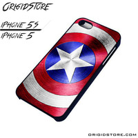 Captain America Shield For iPhone Cases Phone Covers Phone Cases iPhone 5 Case iPhone 5S Case Smartphone Case