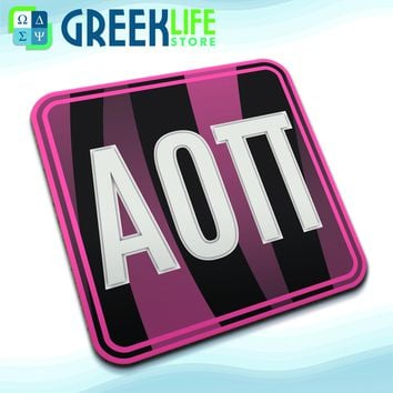 Alpha Omicron Pi (Set of Four Coasters)