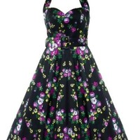 Hell Bunny 50's May Day Dress Black