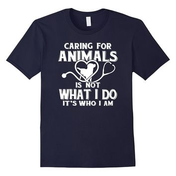 Vet Tech Shirts Caring for Animals Veterinary Technician Tee