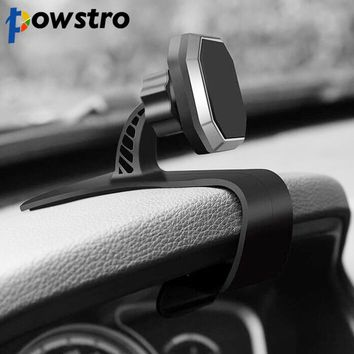 Universal - Powstro Magnetic Car Mount Universal Car Phone Holder Adjustable Dashboard Phone Stand for Safe Driving