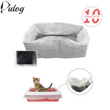 Cat Litter Box Tray Liners Reusable Hygienic Scoop Hands Free - 10pcs/lot
