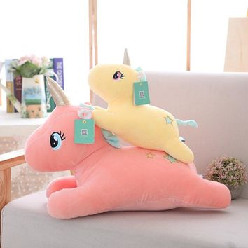 50cm Stuffed Unicorn Plush Toy Soft Toys Simulation Animals Pillow Kawaii Unicornio Bedroom Decor Appease Toys for Children Gift