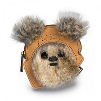 Epic Star Wars Furry Ewok Coin Purse