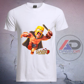 Clash Of Clans Barbarian, Clash Of Clans tshirt, Clash Of Clans shirt, Tshirt youth, kids tshirt, and Adult Tshirt