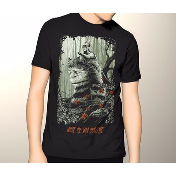 Where the Wild Things Are Movie Shirt S-5XL Graphic T-Shirt