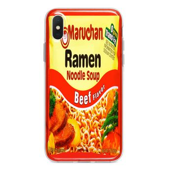 BEEF RAMEN NOODLES CUSTOM IPHONE CASE