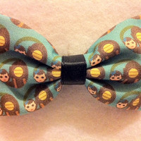 Bioshock Themed Fabric Hair Bow by crashedhope on Etsy